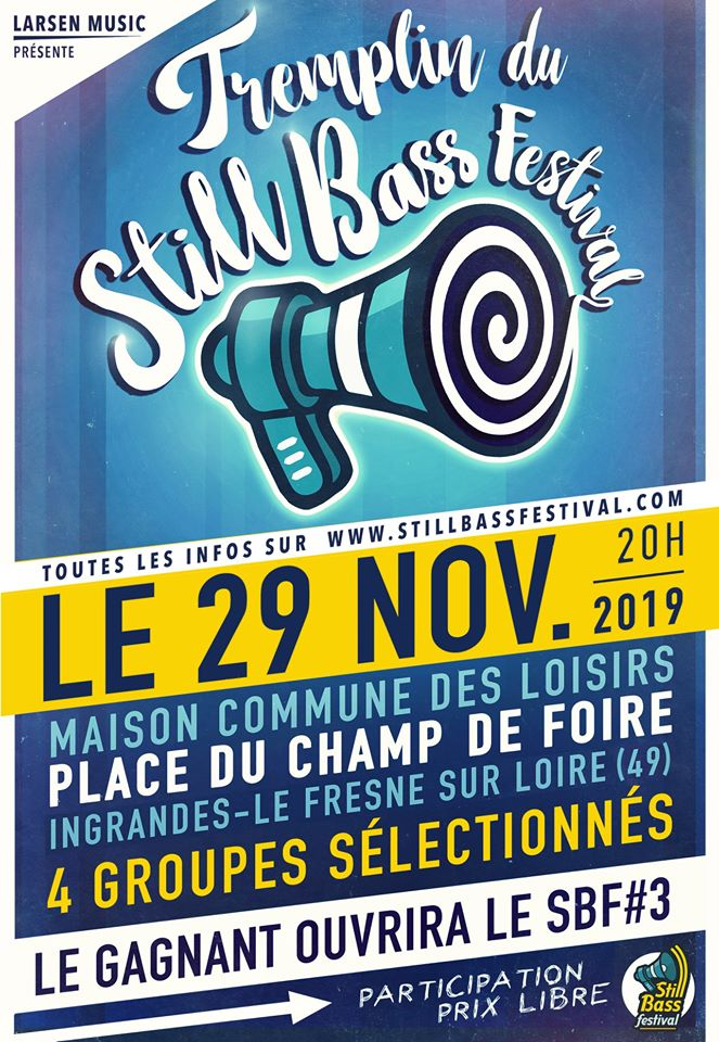 Affiche Still Bass Festival tremplin